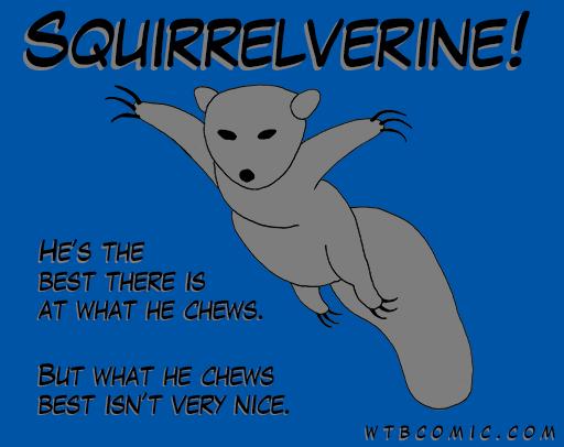 Squirrelverine T